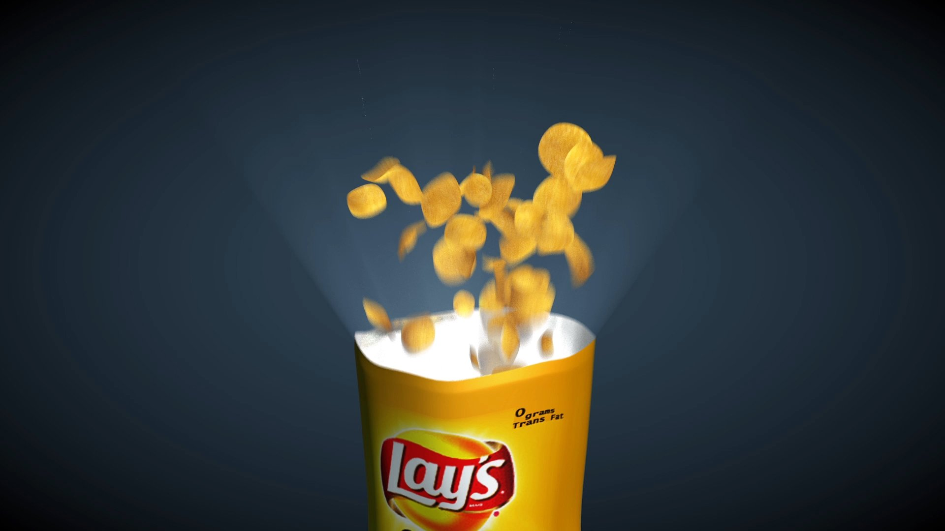 How to model and animate potato chip bag in Cinema 4D - Part