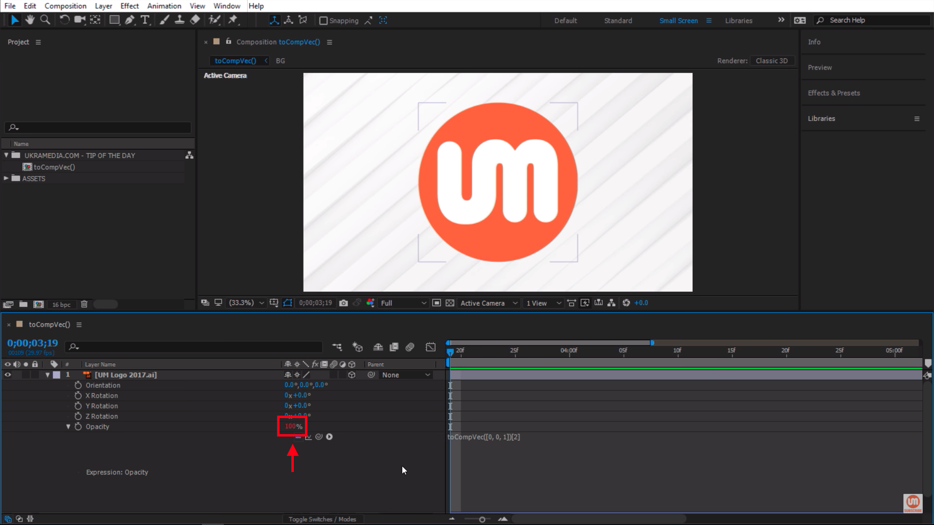 toComVec() After Effects Expression