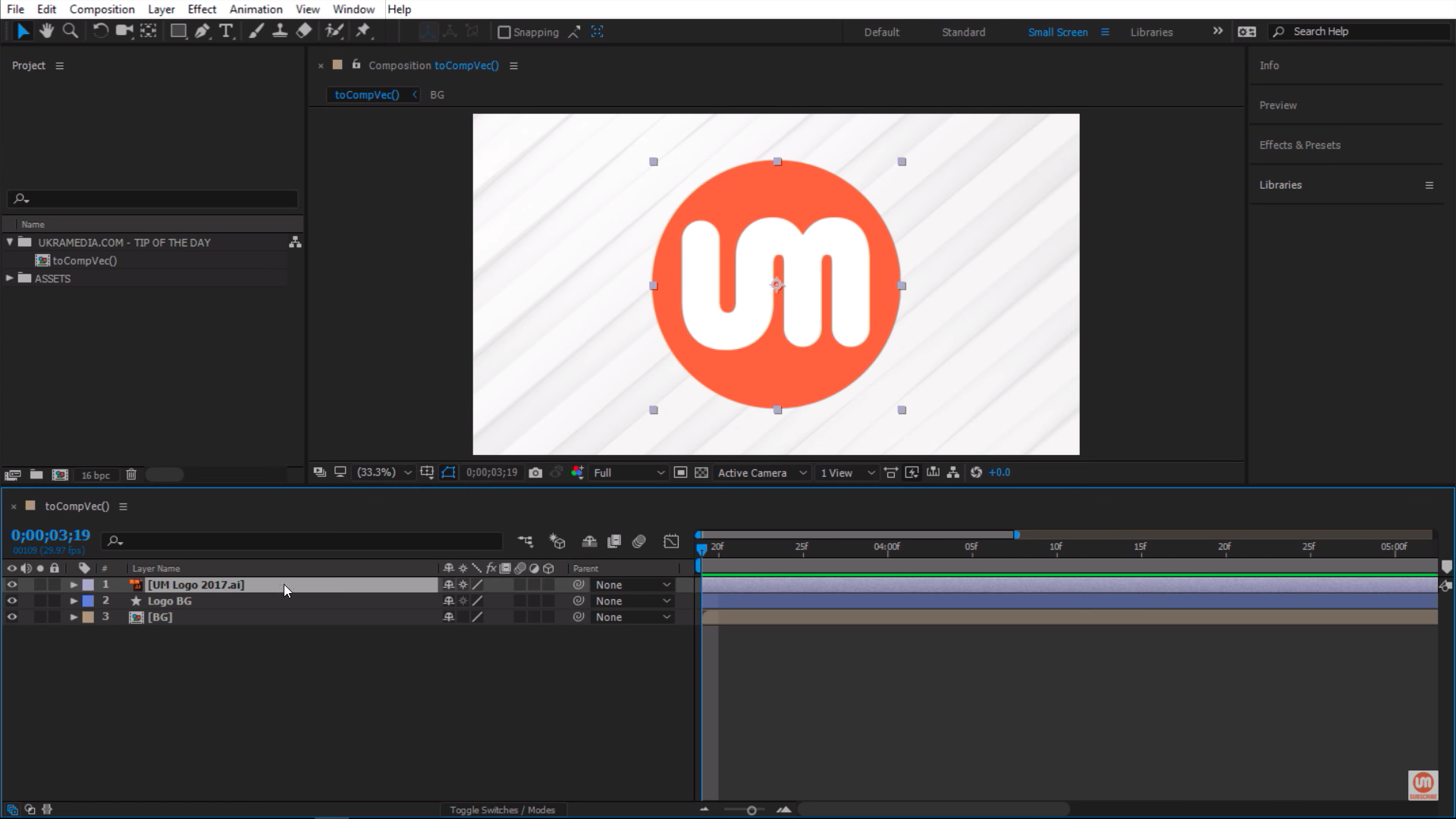 After Effects Set up