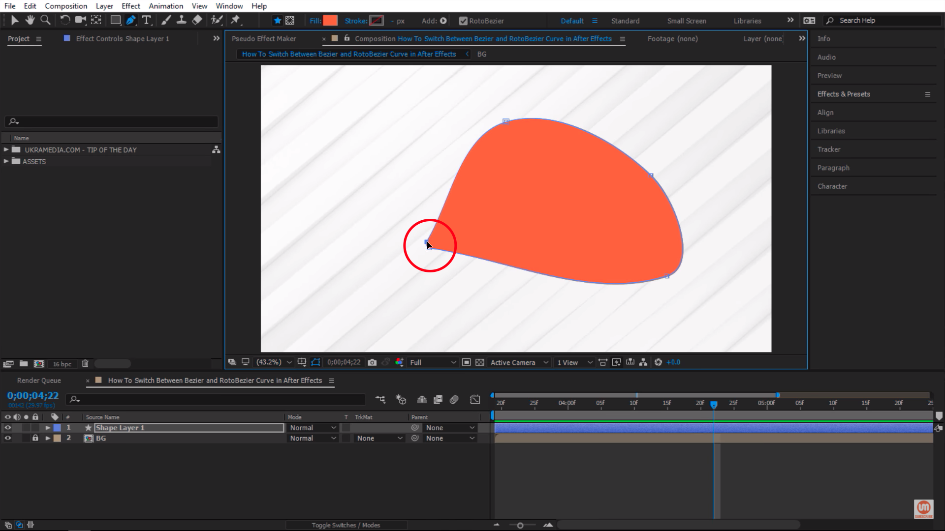 Bringing points together in After Effects