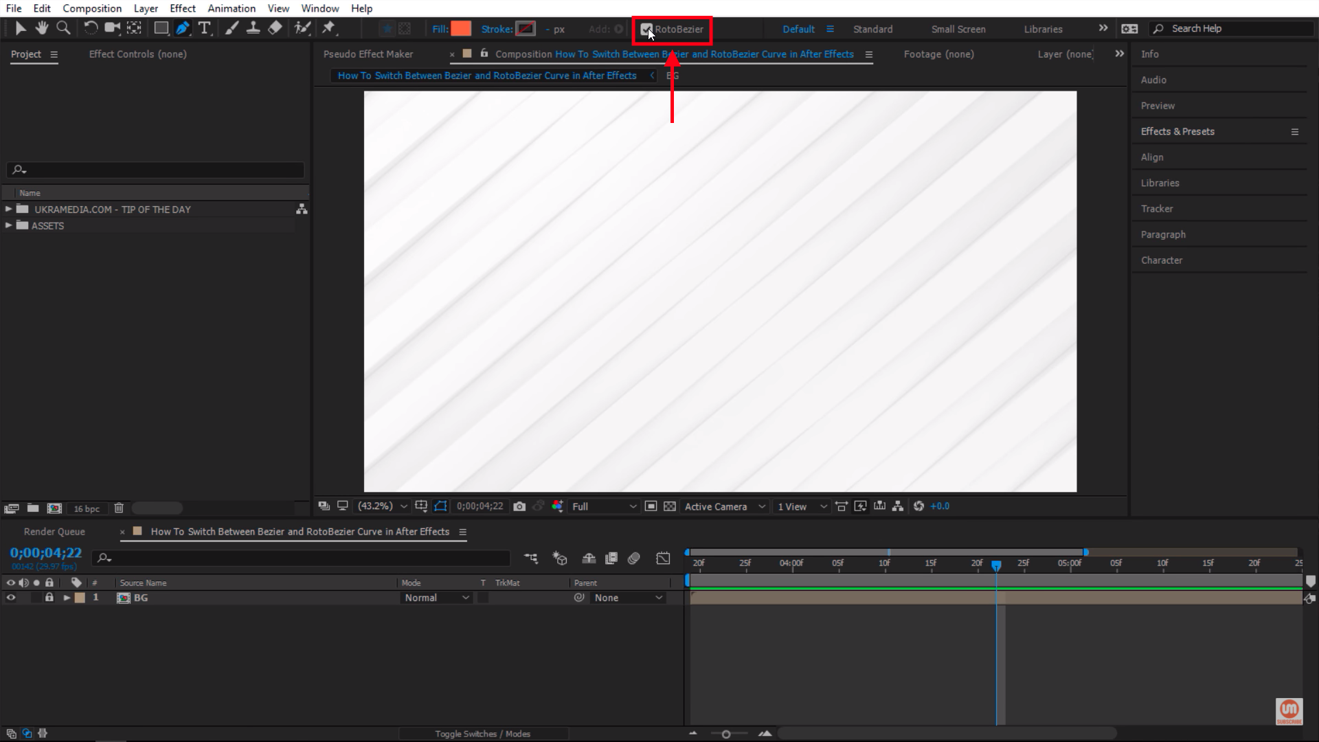 Check RotoBezier in After Effects