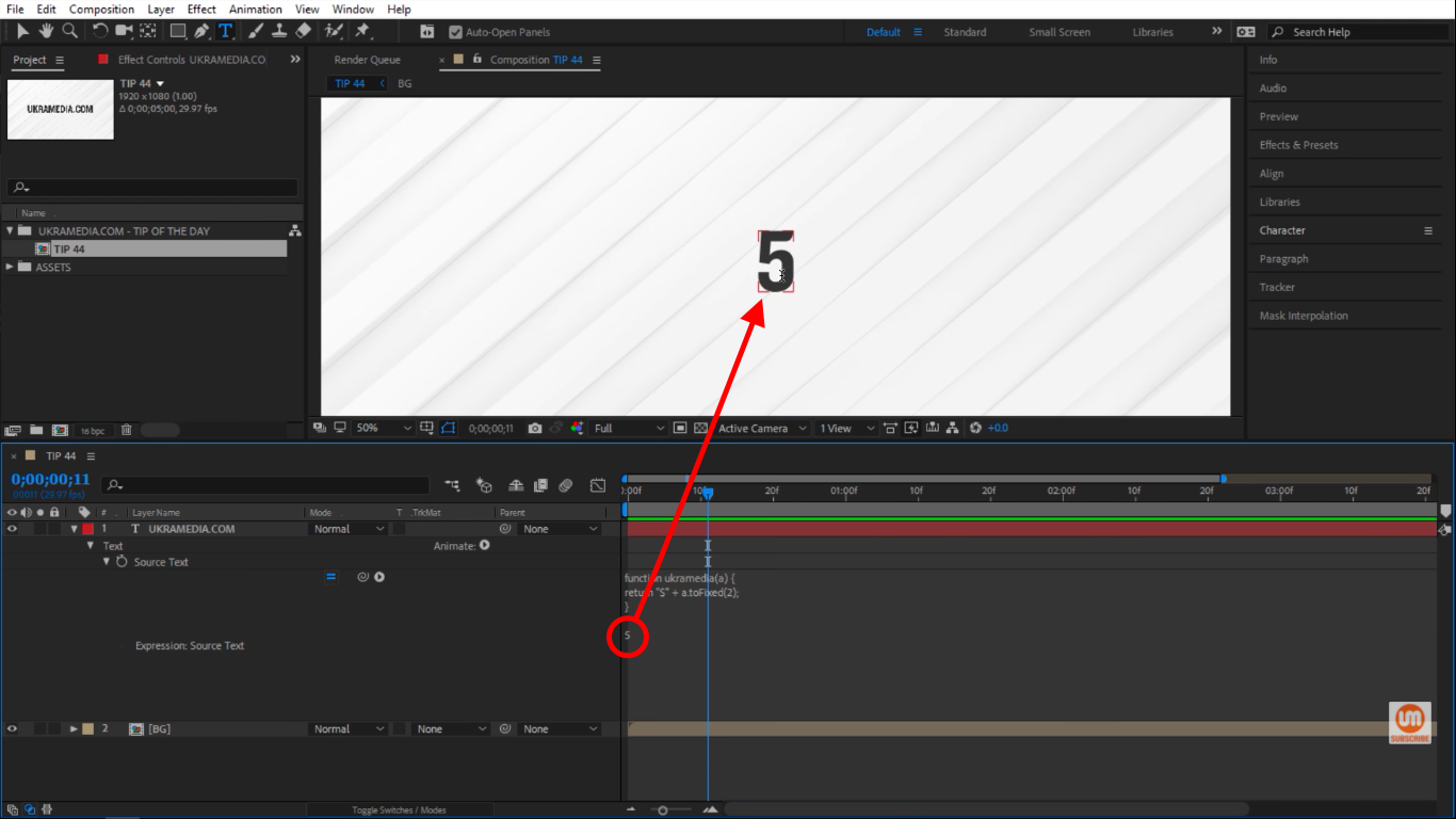 Function in After Effects