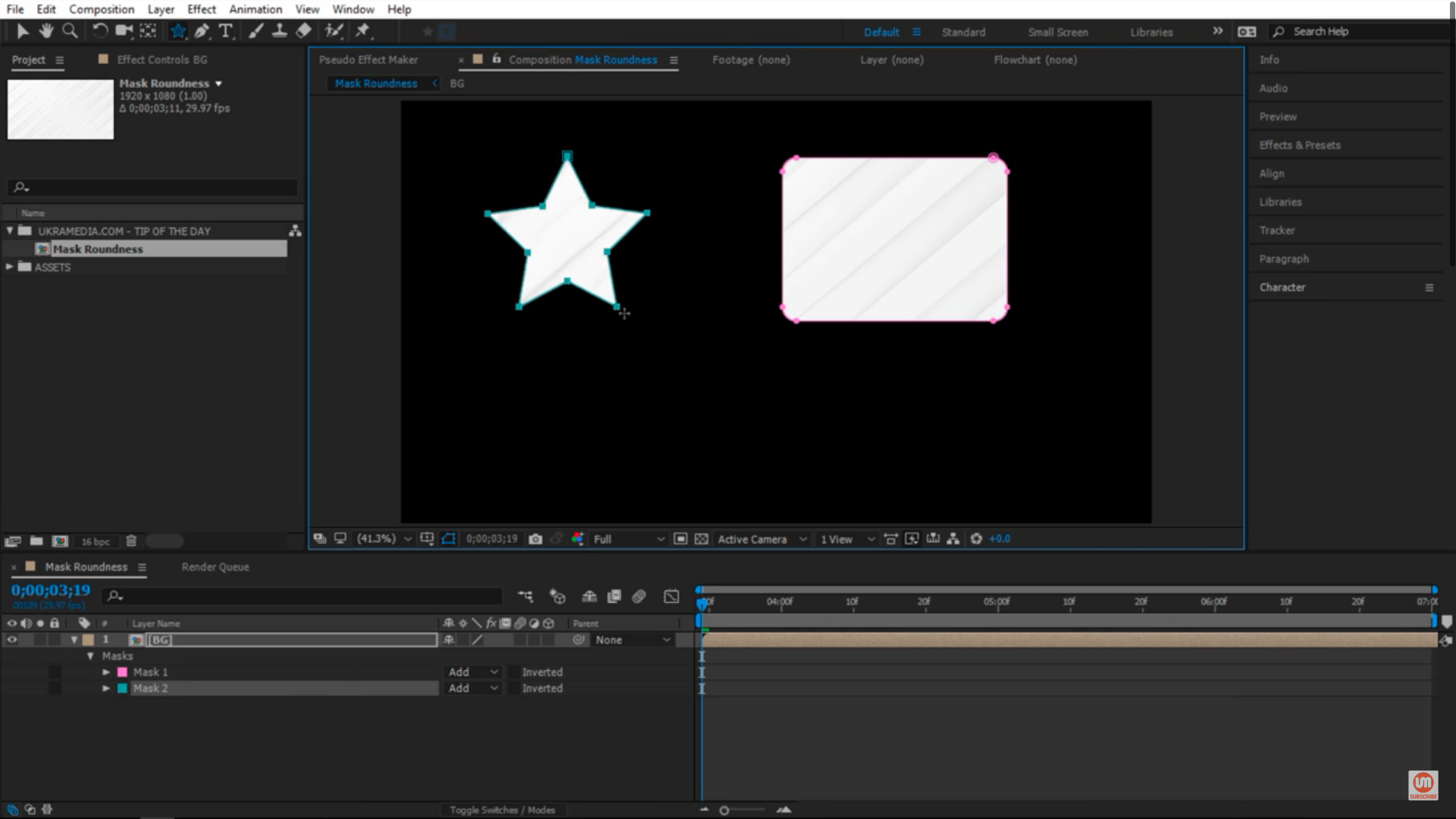 Star tool after effects
