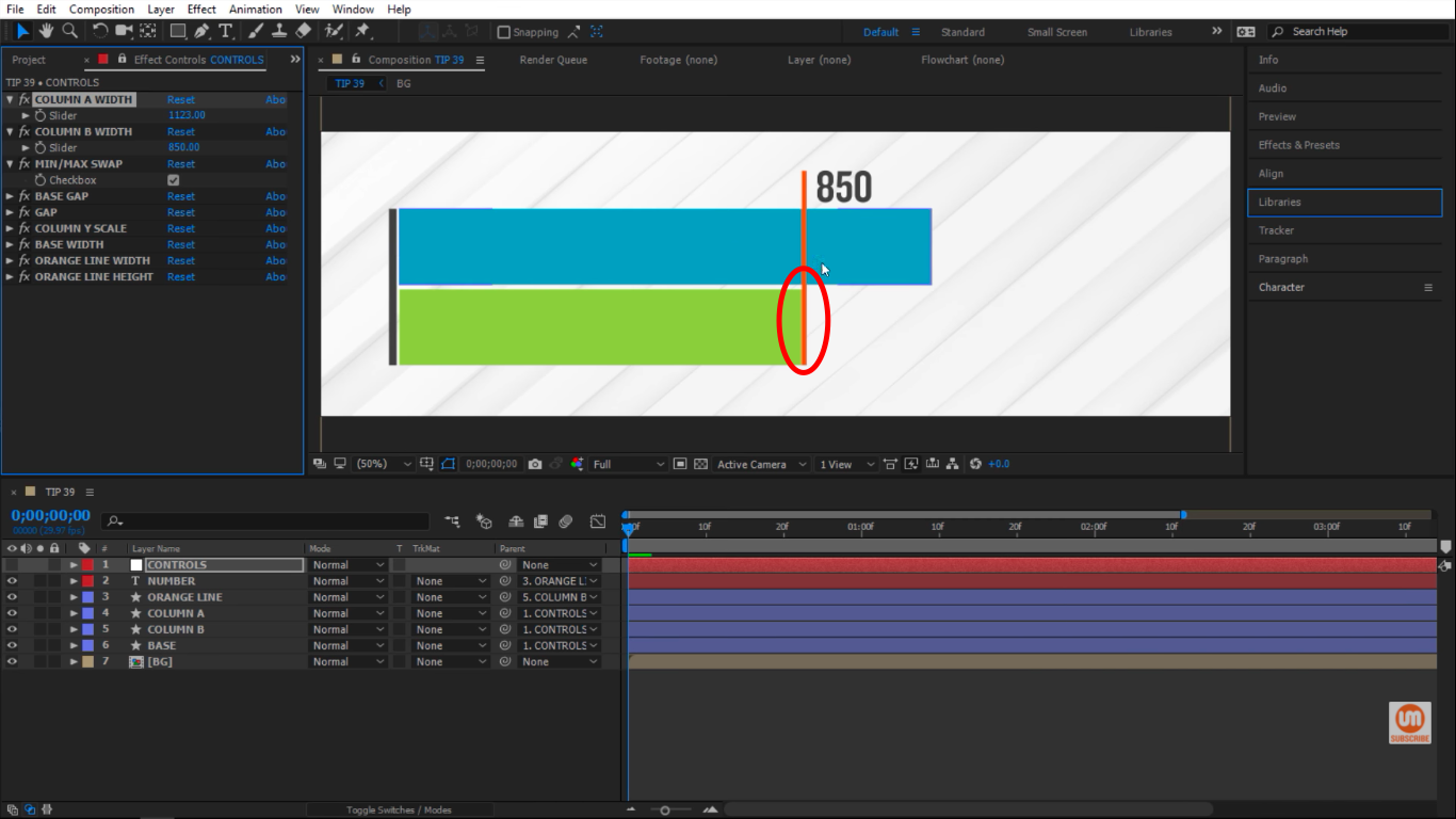 Swap Minimum and Maximum in After Effects