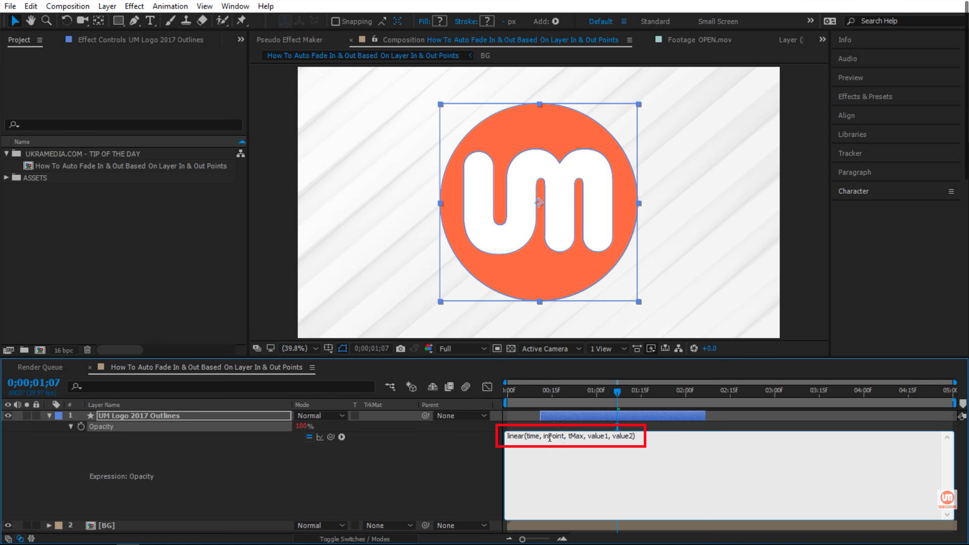 inPoint After Effects