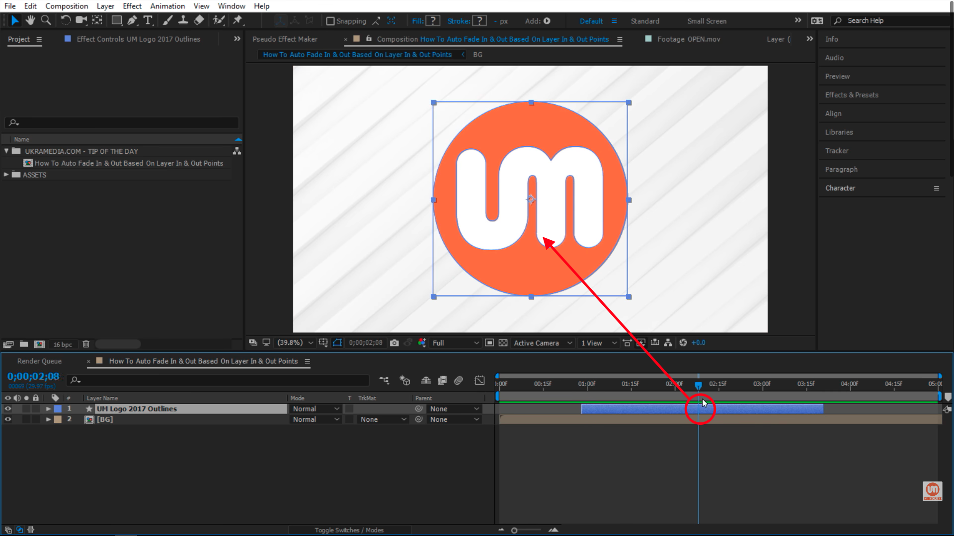 midpoint after effects