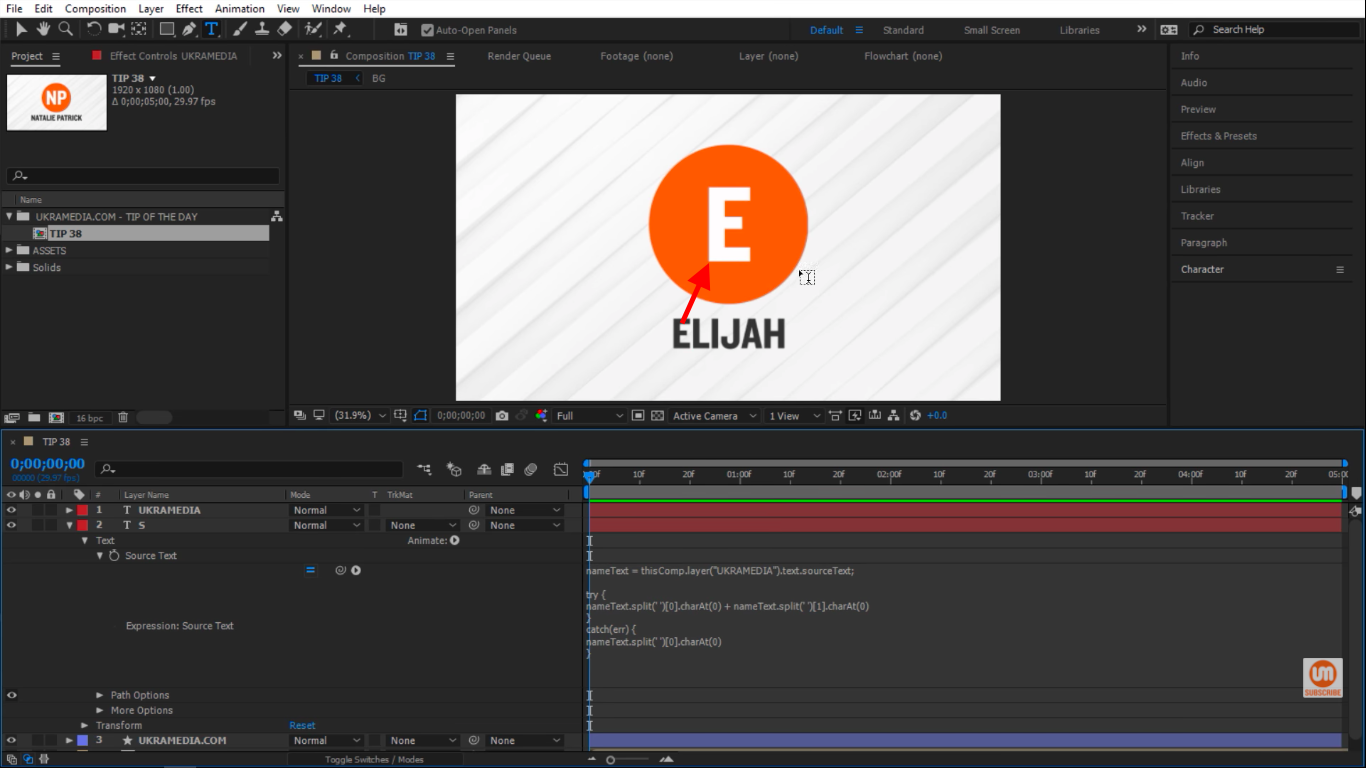 try{} expression in After Effects