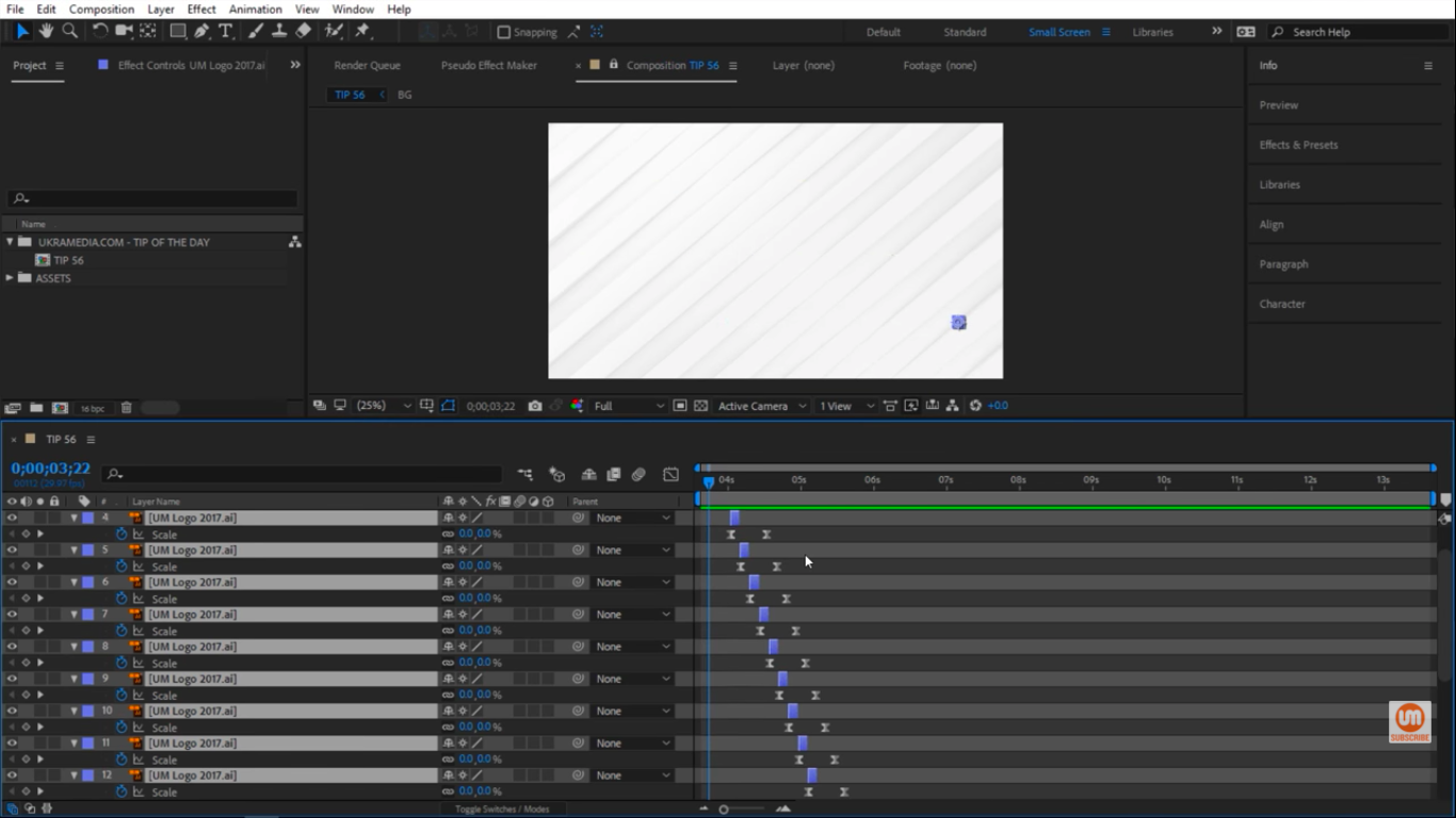 3 Frames offset in After Effects