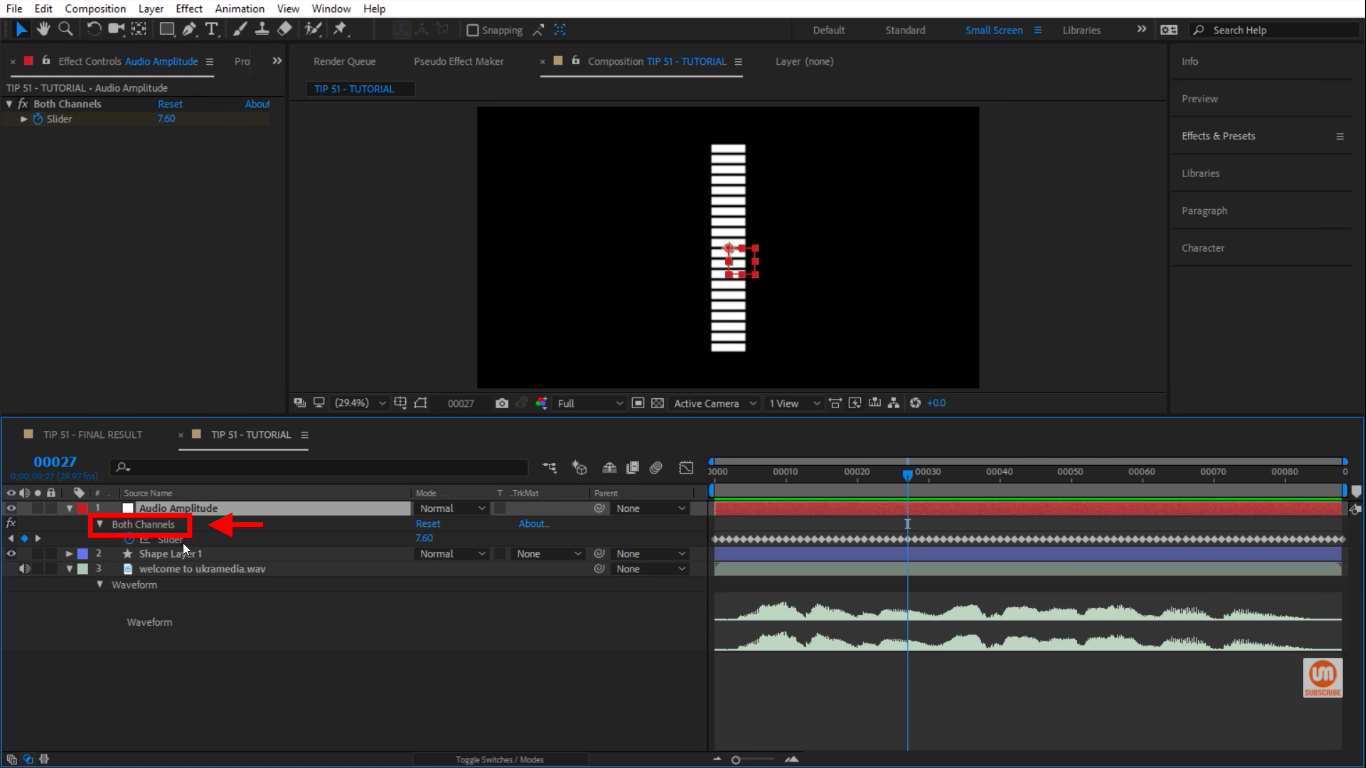 Both Channels in After Effects