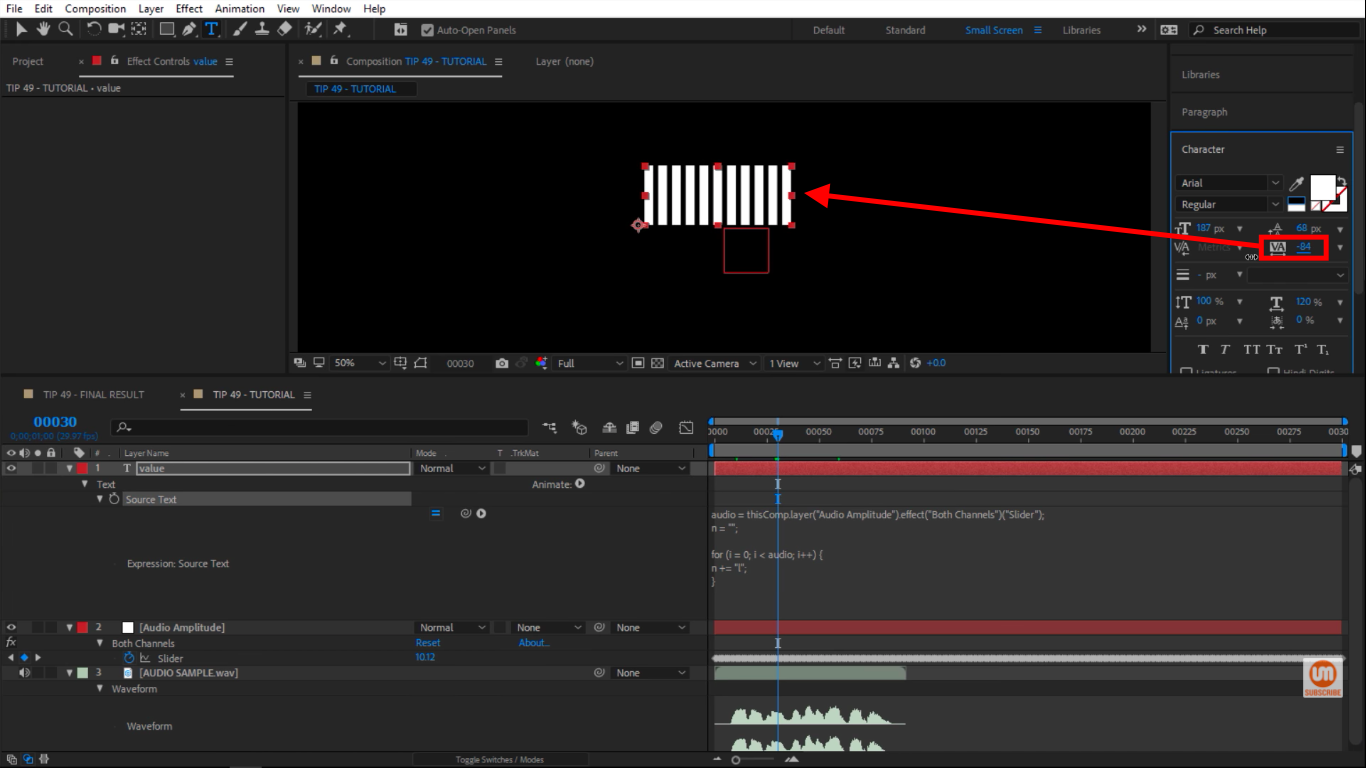 Closer together in After Effects