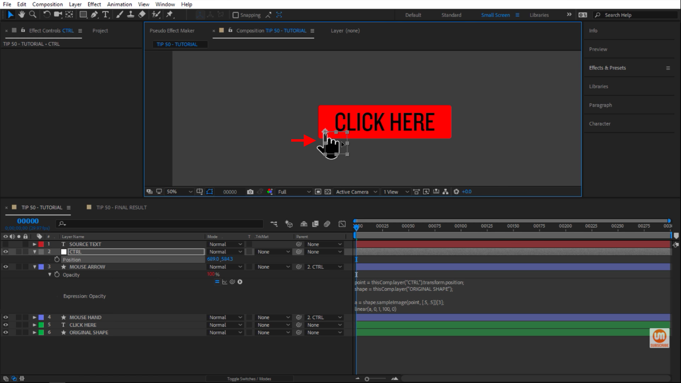 Hand in After Effects
