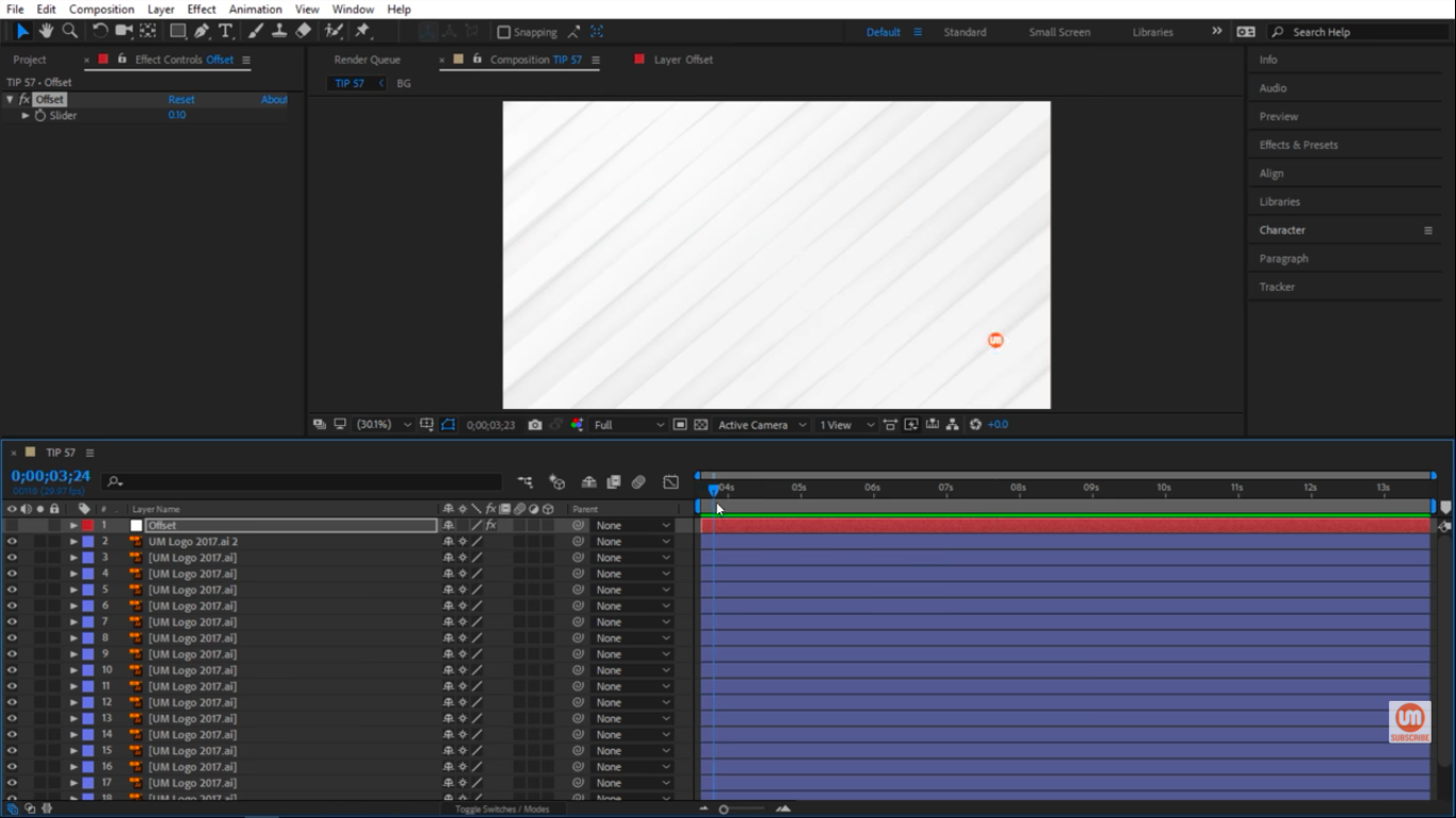 Images scaling up in After Effects 1