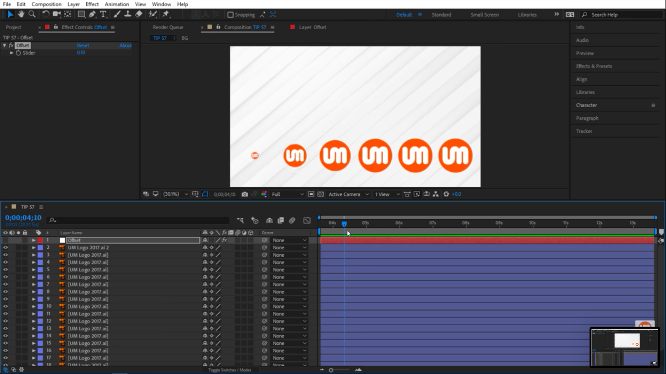 Images scaling up in After Effects