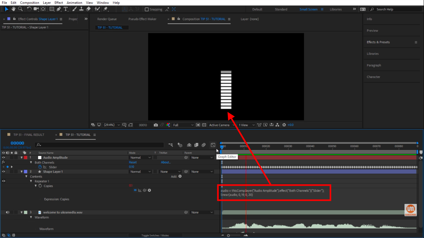 Let's see what happens in After Effects
