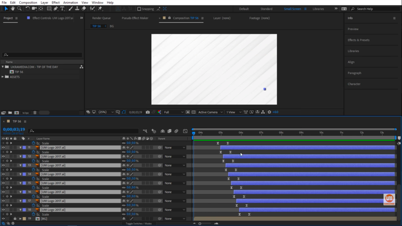 Preview offset layers in After Effects 1