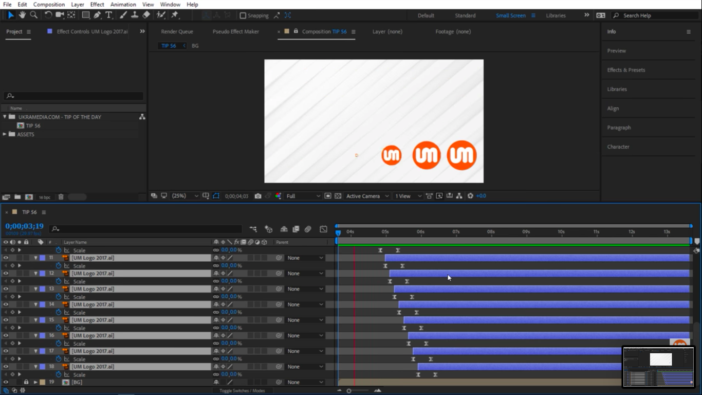 Preview offset layers in After Effects 2