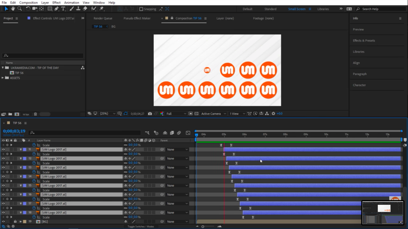 Preview offset layers in After Effects 3