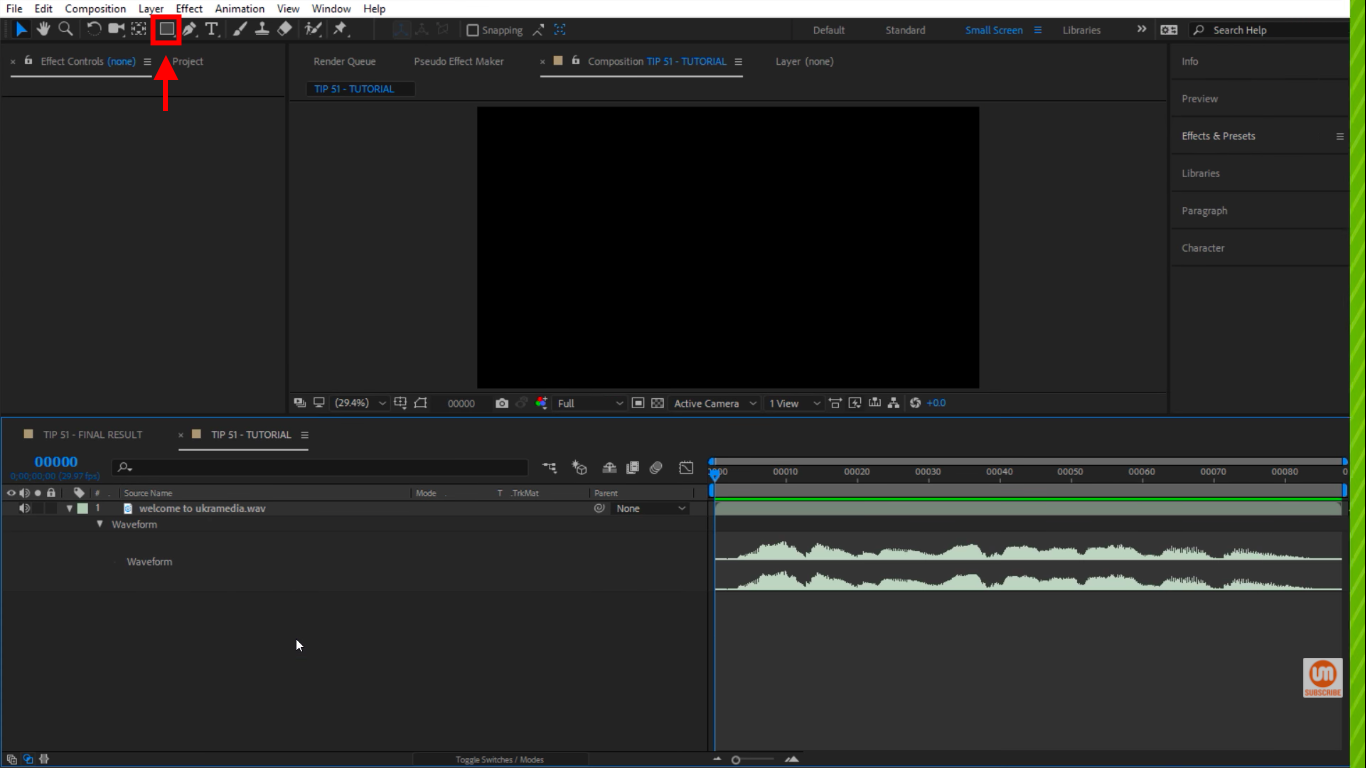 Rectangle Tool in After Effects