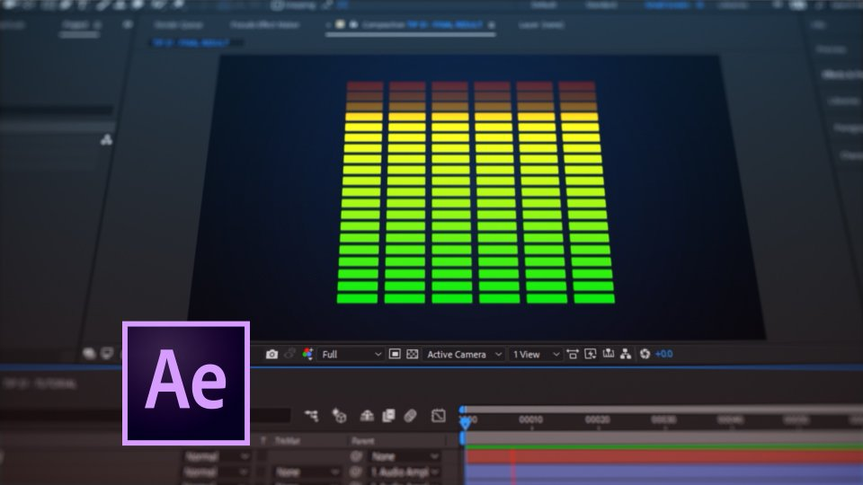 Tip 051 – How To Create an Audio Meter Using Shape Layers in