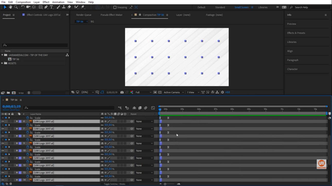 Undo everything in After Effects
