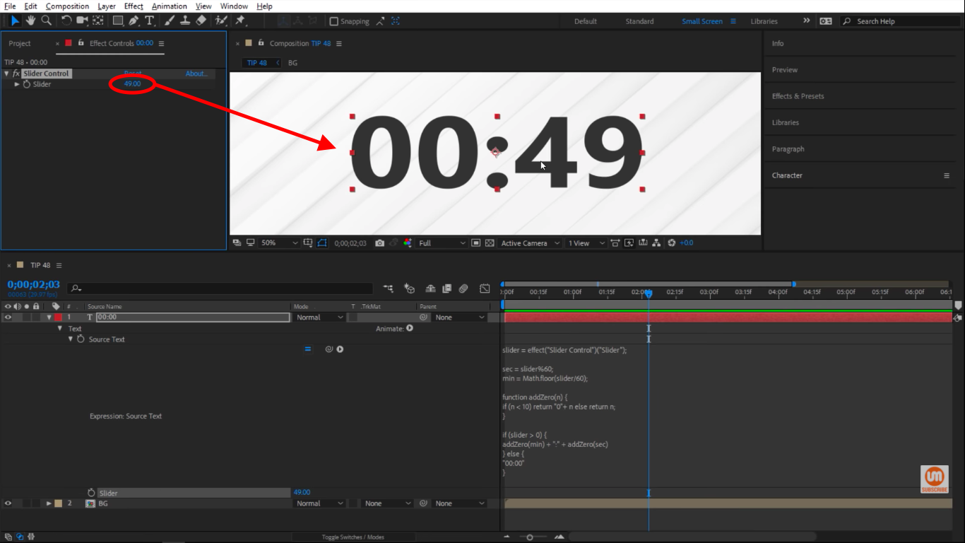 Working clock in After Effects