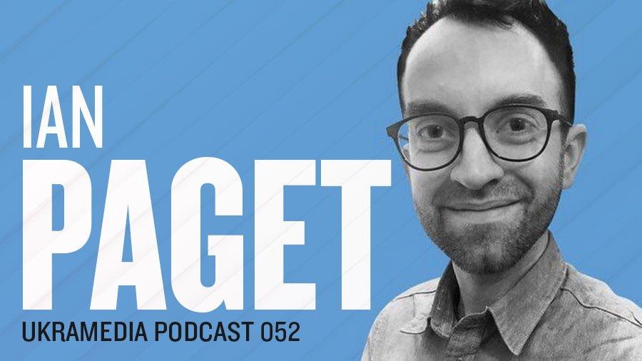 Ian Paget LogoGeek Ukramedia Podcast