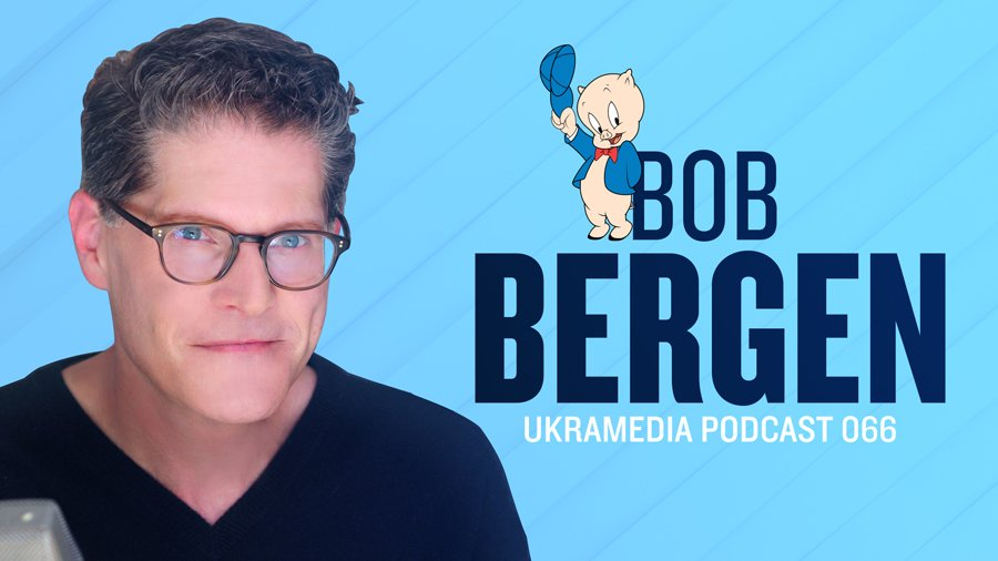 Bob Bergen Ukramedia Podcast Interview
