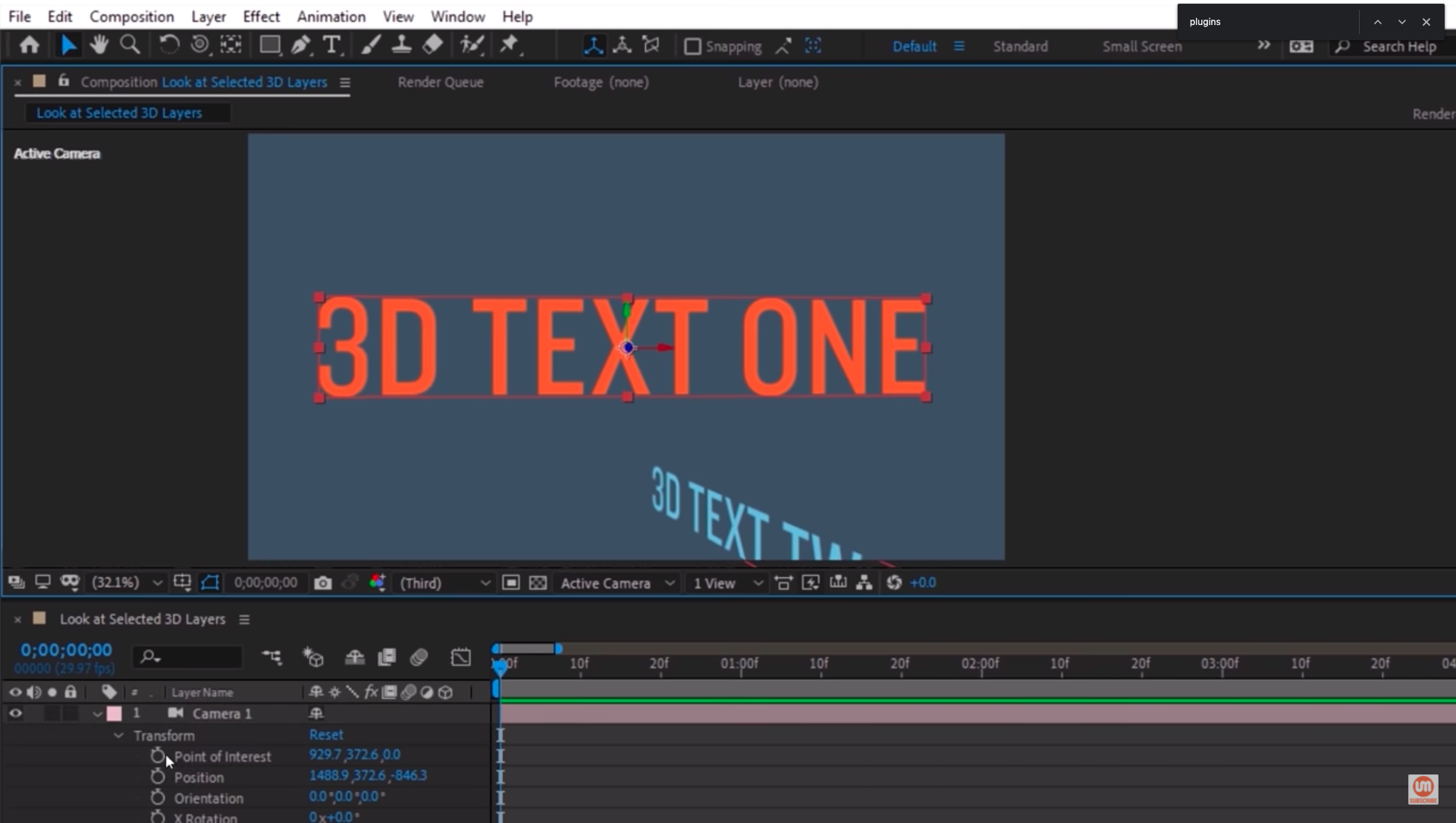 Centering Text in After Effects