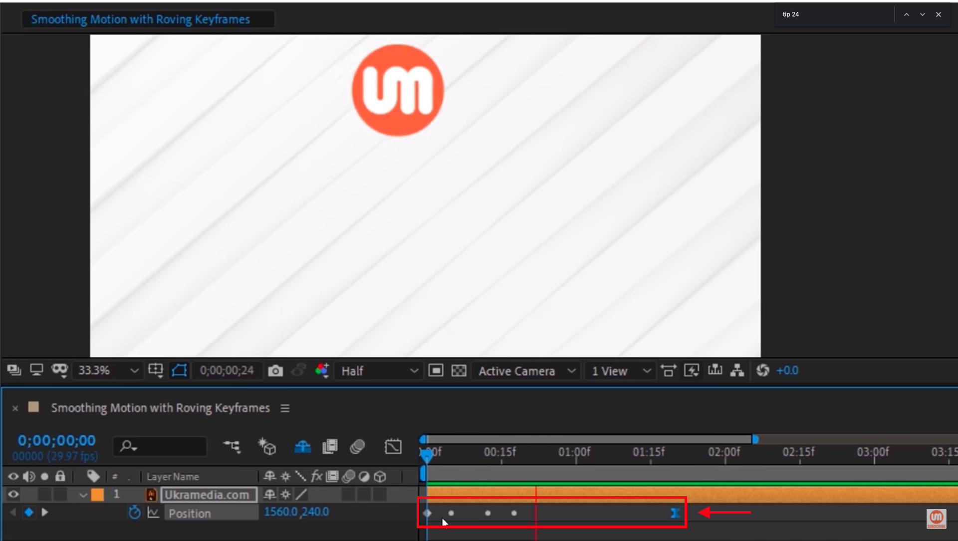 Keyframe Velocity After Effects Ukramedia