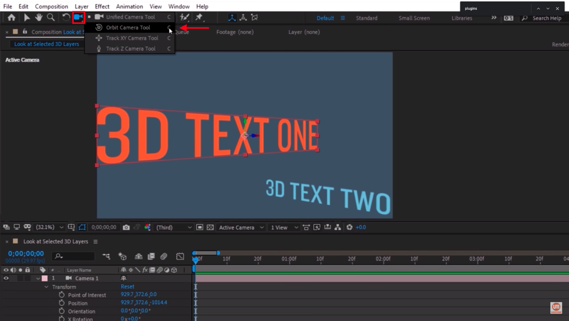Orbit Tool After Effects