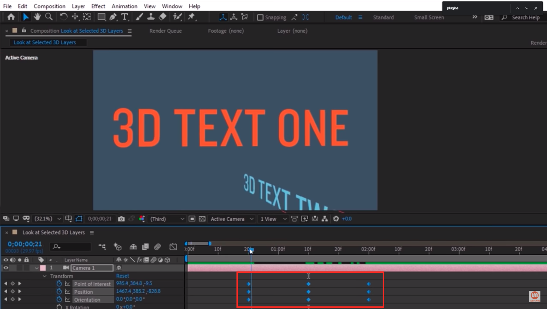 Select and move your keyframes in After Effects
