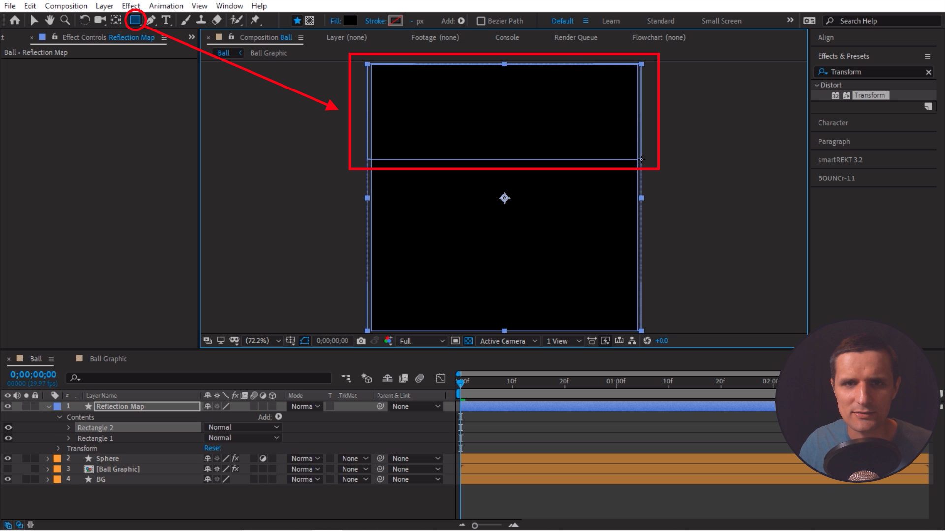 Drawing a shape in After Effects