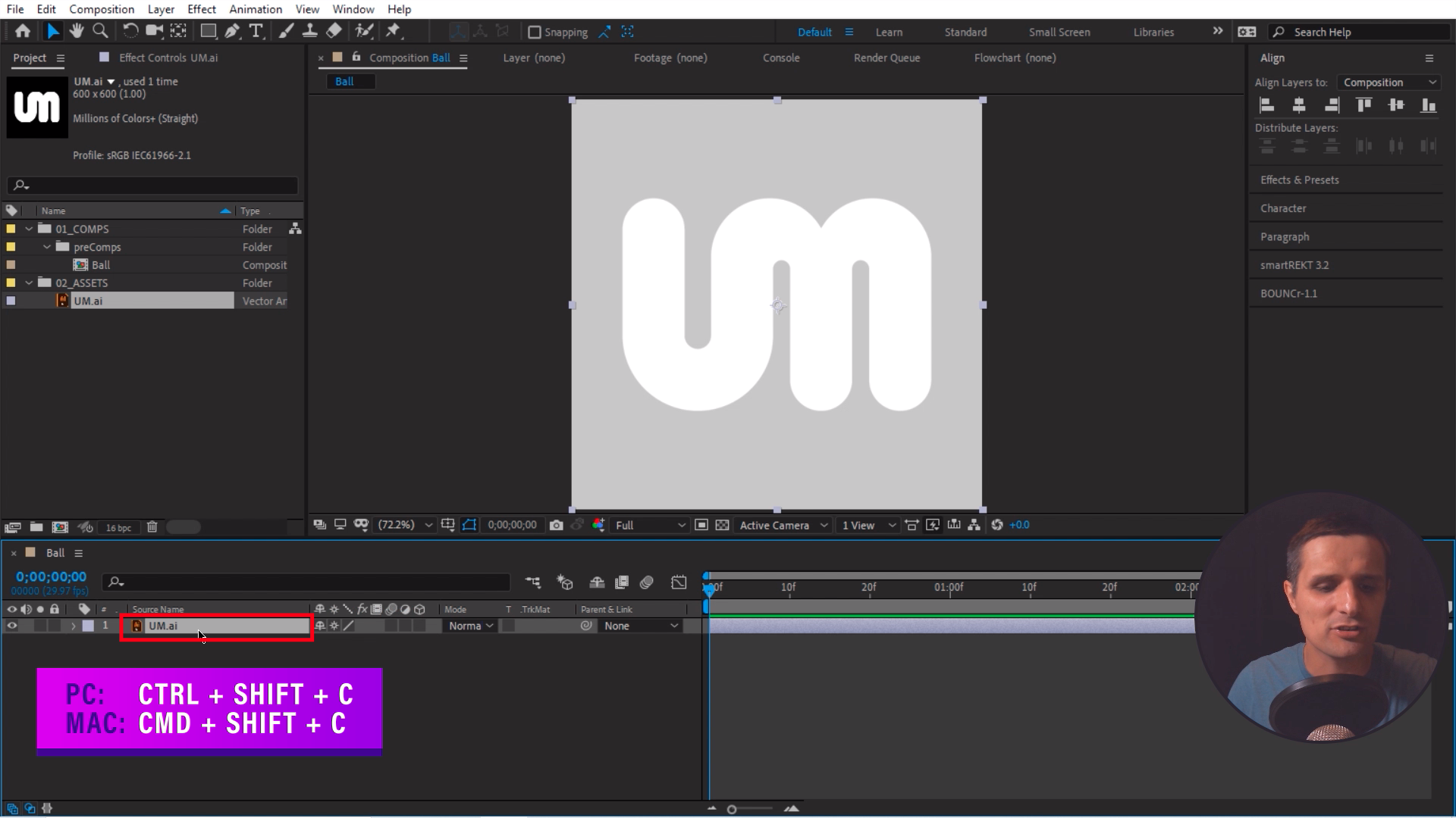 Precompose After Effects