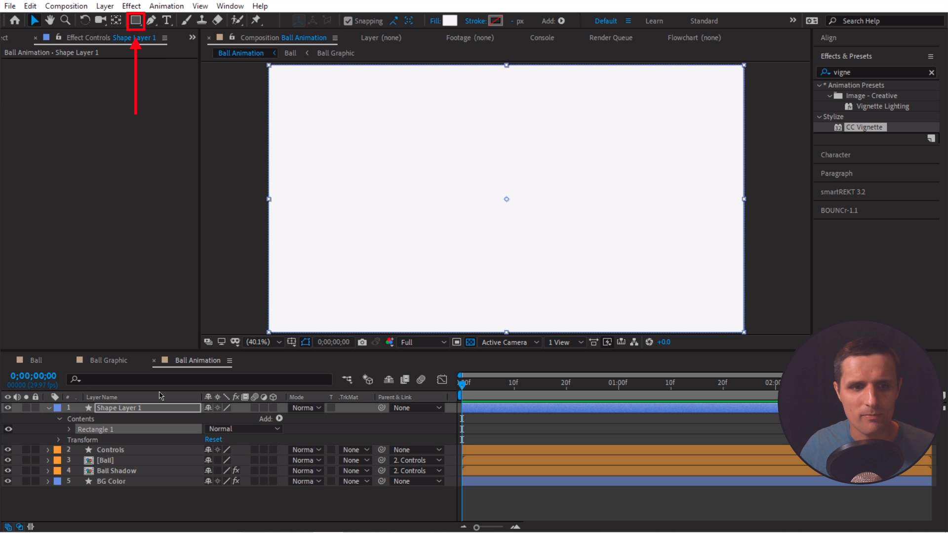 Rectangle Tool After Effects