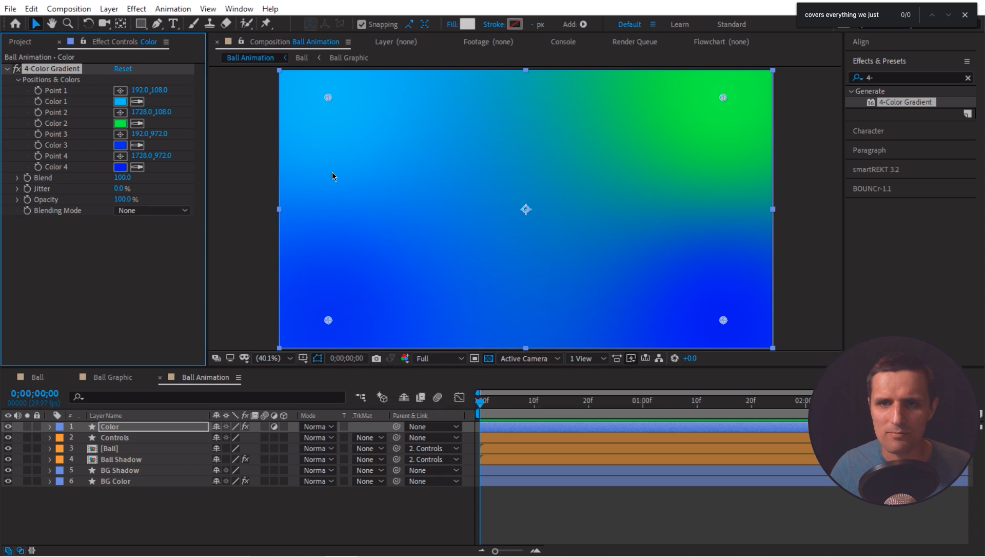 Gradient After Effects